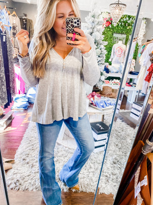 Not So Basic Babydoll Top