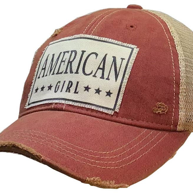 Distressed Trucker Cap