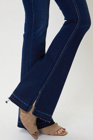 Almost Perfect Mid Rise Flare Jean