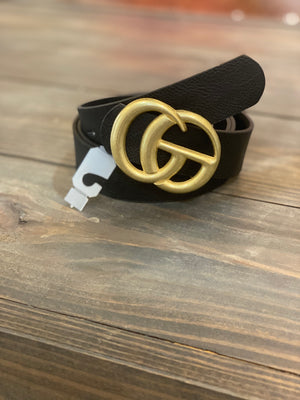 """Gucci"" Inspired Belt"