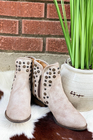 Corkys Toledo Bootie in White
