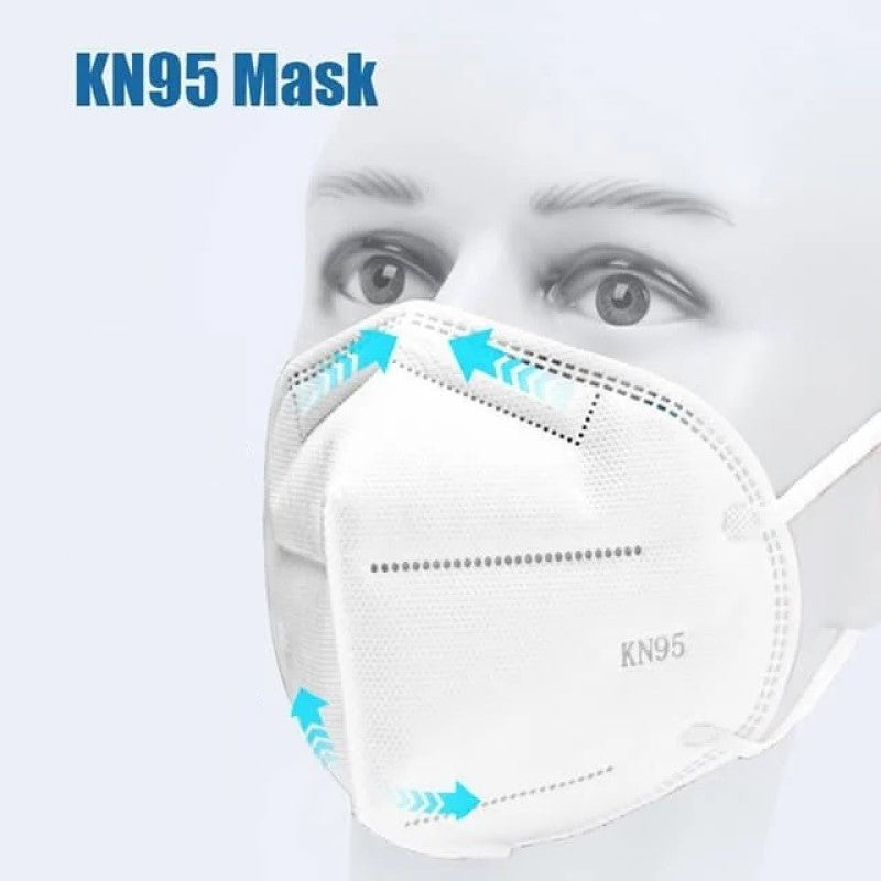 disposable Kn95 face mask with filter in california