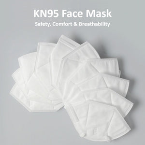 Corona virus disposable KN95 face dust masks California