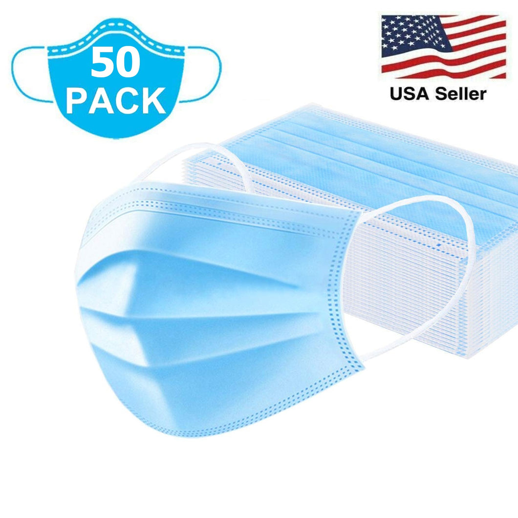 Disposable Protective Face Masks 3-PLY Non-Sterile