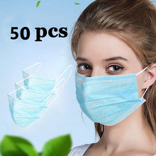 Load image into Gallery viewer, disposable surgical protection face masks 50 pcs