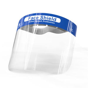 Protective Face Shield  Clear Screen Comfortable Headband