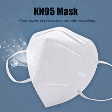 Load image into Gallery viewer, disposable face respirator masks for germ protection n95
