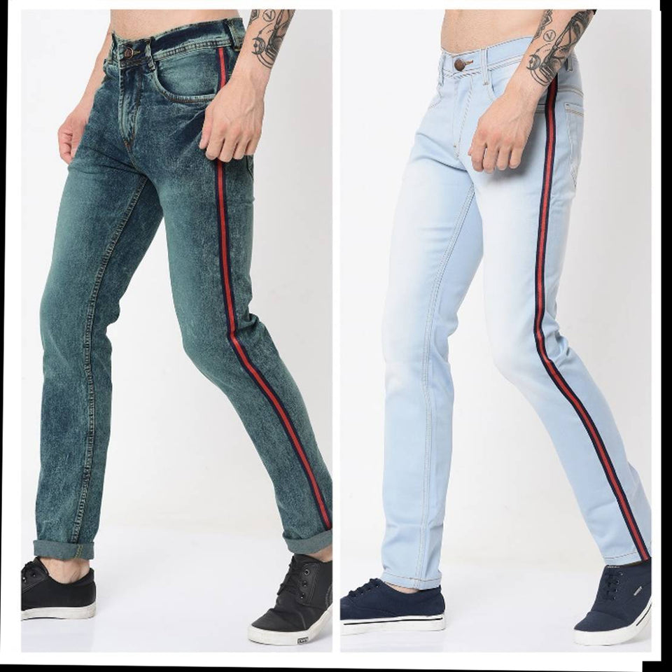 DENIM JEANS FOR MEN'S- PACK OF 2
