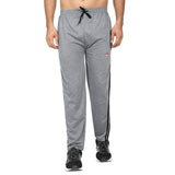 Men Red Black Designer ,Navy Blue & Grey Solid Slim-Fit Joggers (pack of 3)