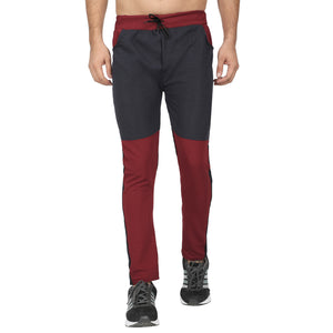Men Red  Black  Designer ,Blue & Yellow Solid Slim-Fit Joggers (pack of 3)