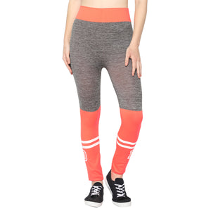 Orange,Blue & Black Designer Solid Skinny Fit Jeggings-Pack of 3