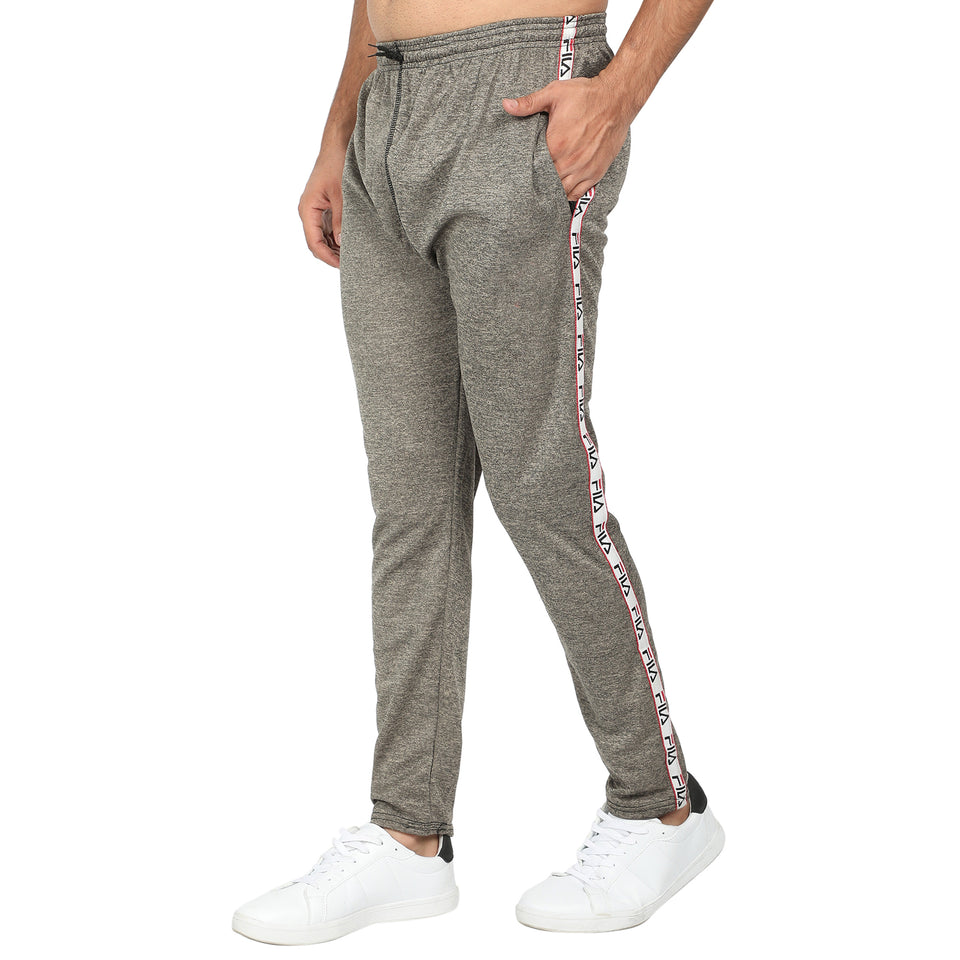 Men's Track Pants-Light Grey