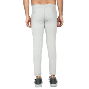 White and Navy Blue Mens-Joggers-Pack of 2