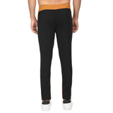Men's Track Pants-Yellow Black Designer