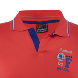 Combo of White-Blue-Red Cotton Polo Collar Half Sleeve T-Shirt