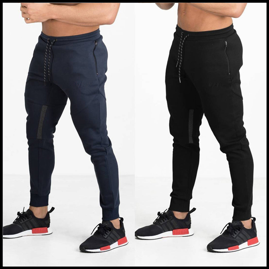 Men Multicolor Slim-Fit Joggers-Pack of 2