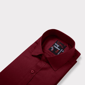 Full Sleeve Shirt for Men Combo-Maroon-Yellow (Pack of 2)
