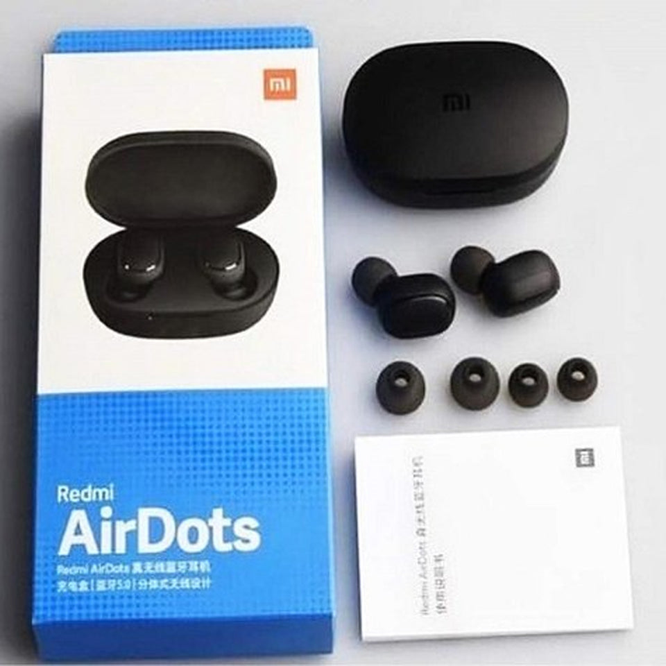 Mi Air dots Bluetooth 5.0 Earphone Stereo Wireless Active Noise Cancellation with Mic Hands