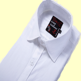 Cotton Full Sleeve Casual Single Shirt for Men - White