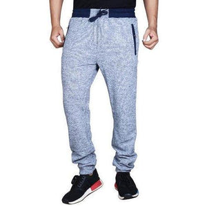 Gray Mens Track Pants
