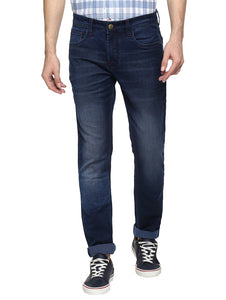 Blue Light Washed Denim Jeans