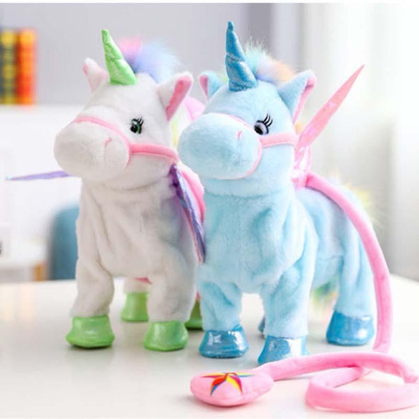 Shopahoo Magic Walking & Singing Unicorn