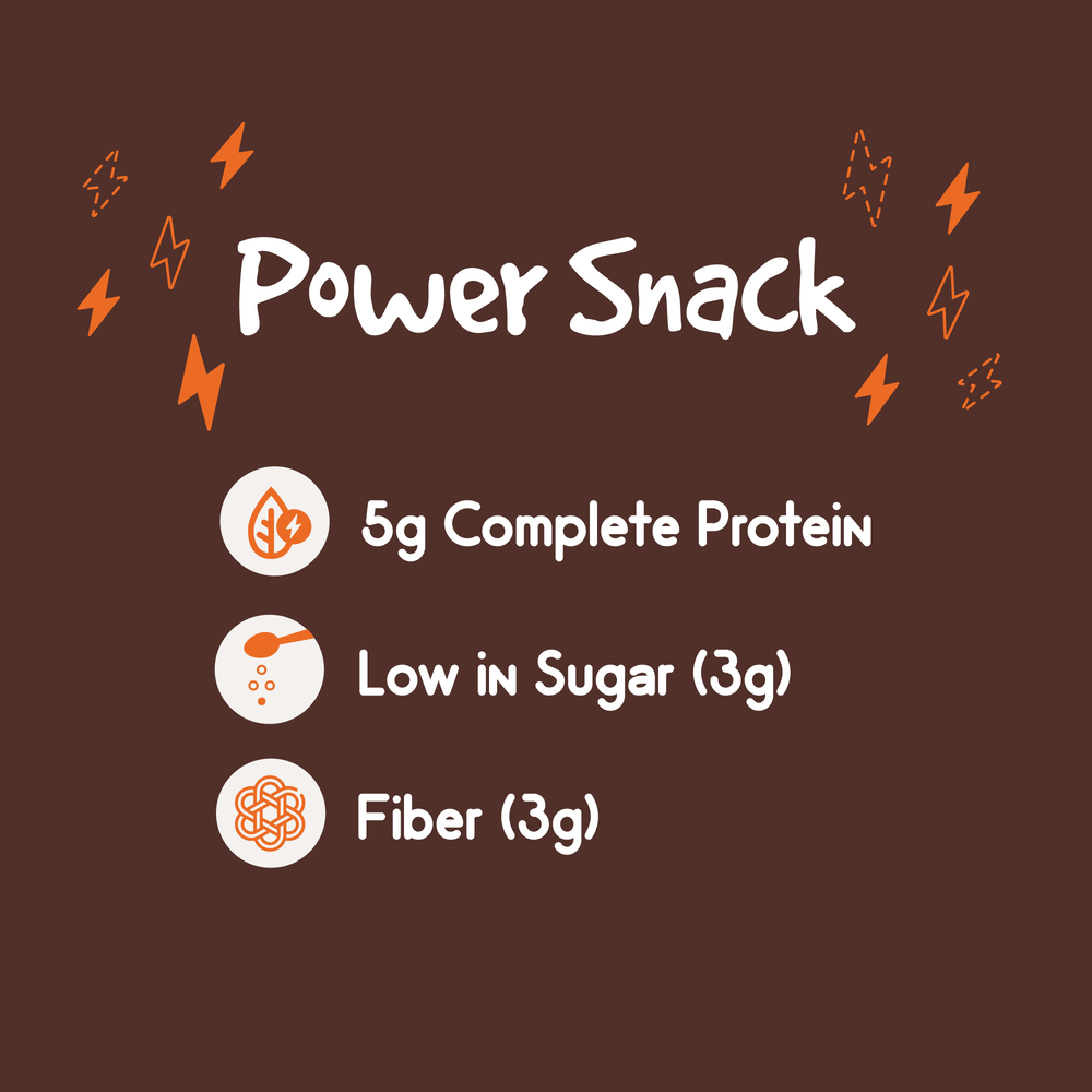 Pnuff, P-nuff Crunch, Roasted Peanut & Cocoa Flavor, snack, healthy snack, baked peanut puffs, plant based protein snack, snacks for kids, snacks for active adults, vegan, non gmo, no artificial ingredients, gluten free, high fiber, nutrition facts, low calorie, low sugar, pack of 6