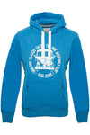 BULLI FACE USED Mens Hoodie blue white