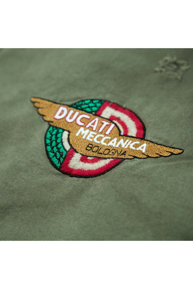 DUCATI WING Mens Jacket olive