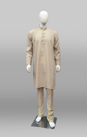 Men's Shalwar Kameez Cotton Beige