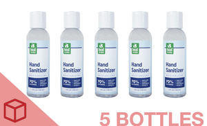 4 oz. Hand Sanitizer (5 count)