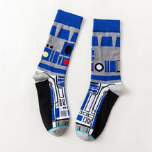 Load image into Gallery viewer, R2D2 Star Wars Movie Men's or Women's Socks