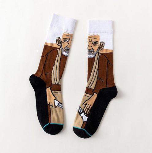 Obi-Wan Star Wars Movie Men's or Women's Socks