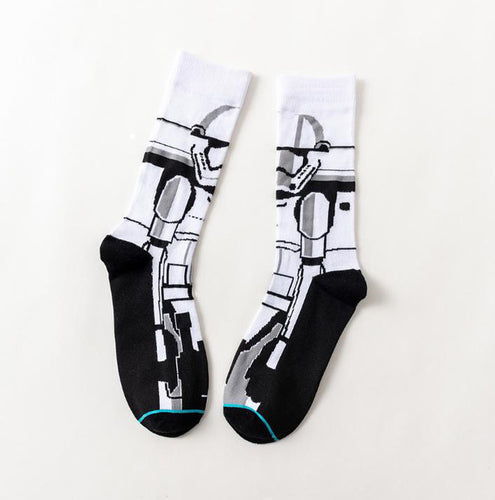 Clone Trooper 2 Star Wars Movie Men's or Women's Socks