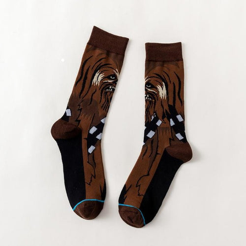 Wookiee Star Wars Movie Men's or Women's Socks