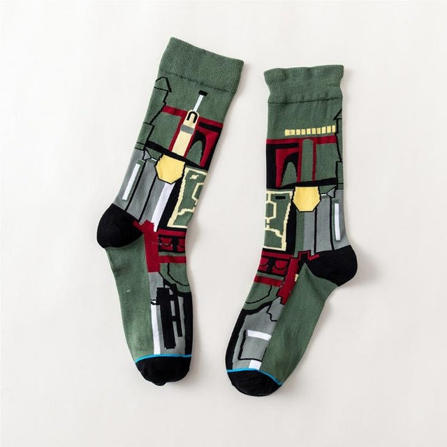 Boba Fett Star Wars Movie Men's or Women's Socks