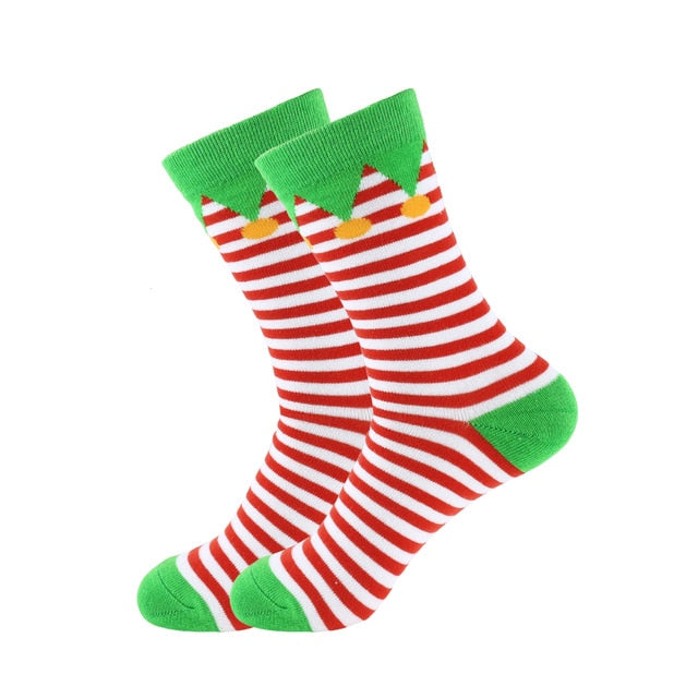 Christmas Socks - Cotton Prints - Be an Elf