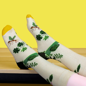 Fun Characters, Animals and Animation Sox - The Woods