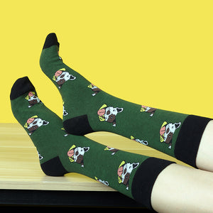 Fun Characters, Animals and Animation Sox - Happy Dog