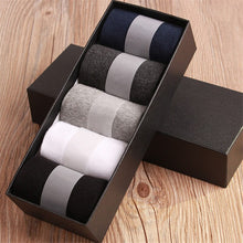 Load image into Gallery viewer, 5 Pairs Mens Fashion Dress - Cotton Socks - Variety