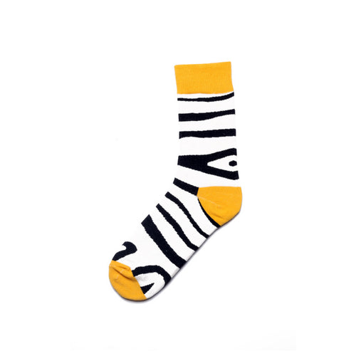 Fun Characters, Animals and Animation Sox - Zebra Stripes