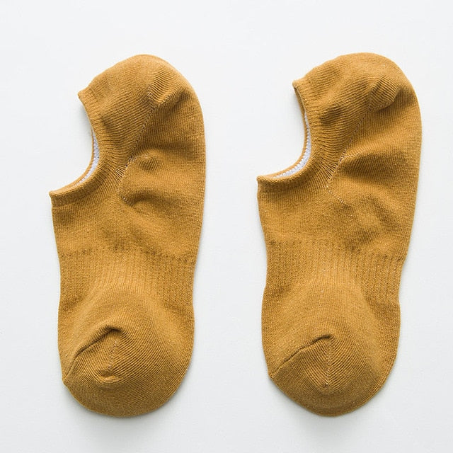 Footy Sox - Short in Shoe Sox - Gold