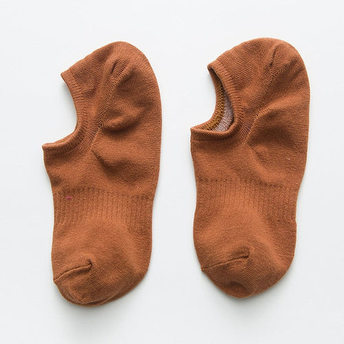 Footy Sox - Short in Shoe Sox - Brown