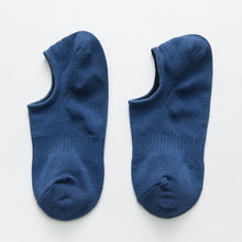 Load image into Gallery viewer, Footy Sox - Short in Shoe Sox - Dark Blue