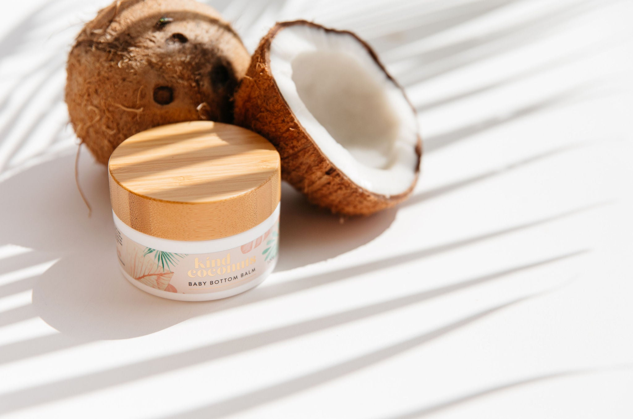 Natural Organic Baby Bottom Balm by Kind Coconuts Australia