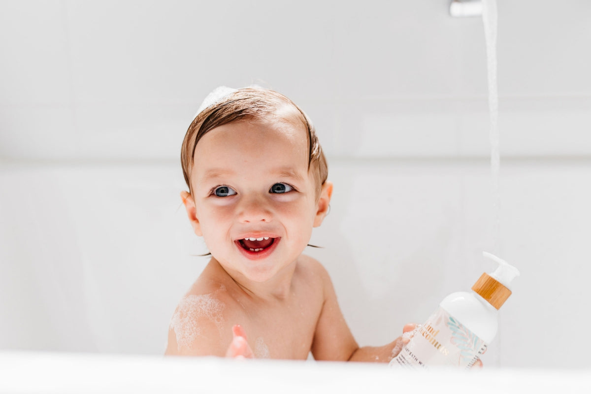 Kind Coconuts Natural Baby Skincare Products made in Australia enriched with Organic Coconut Oil