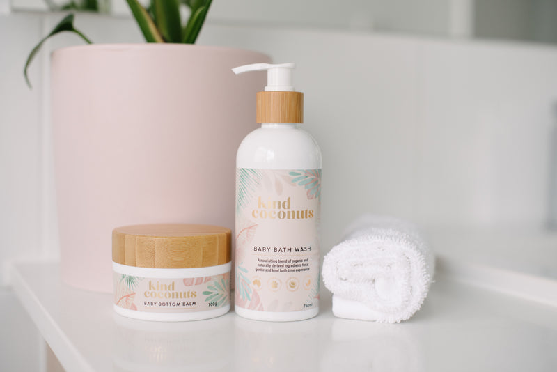 Baby Bottom Balm & Baby Bath Wash Bundle