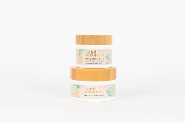 Natural Baby Nappy Balm by Kind Coconuts | Cruelty Free Baby Products Online Australia
