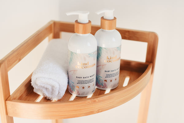 Natural Soap Free Baby Bath Wash | Made in Australia Kind Coconuts
