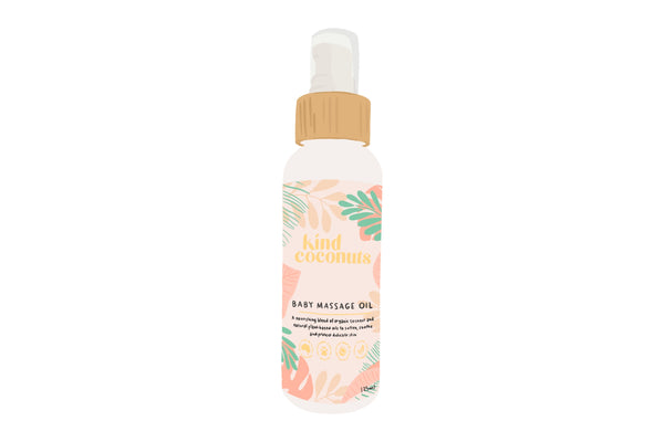 Baby Massage Oil - available for pre order